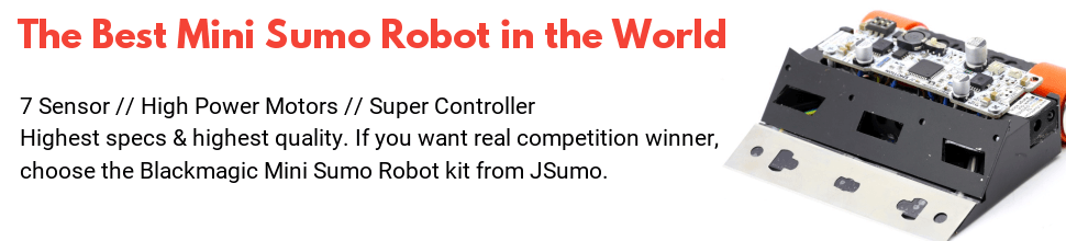 best mini sumo robot kit