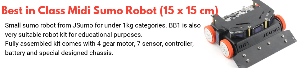 midi sumo robot features