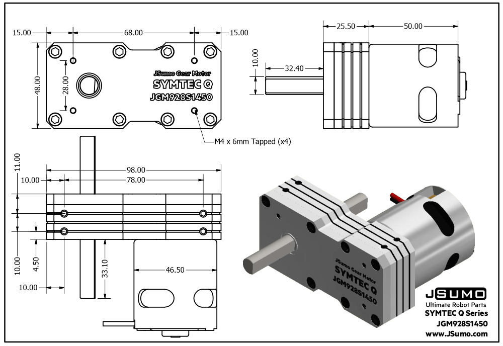 symtec-q-motor-drawing