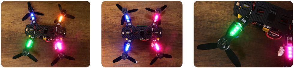 RGB Board example at Drone